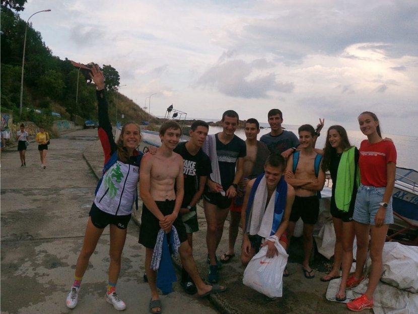 Тренировъчен лагер с НО край Ахтопол